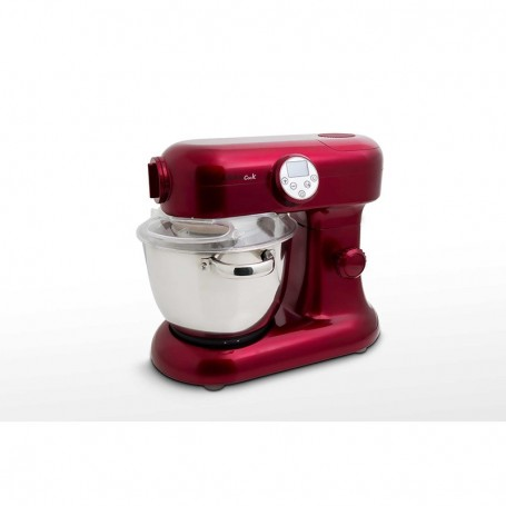 KitchenCook Révolution 2 Robot Cuiseur Rouge Bol Inox 5L
