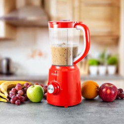 BLENDER 500W 1.5L AVEC 2 LAMES INOX B5TURBO_RED DE KITCHENCOOK