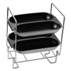 GRILLE SUPPORT A BAGUETTE CROUTIBRED KITCHENCOOK